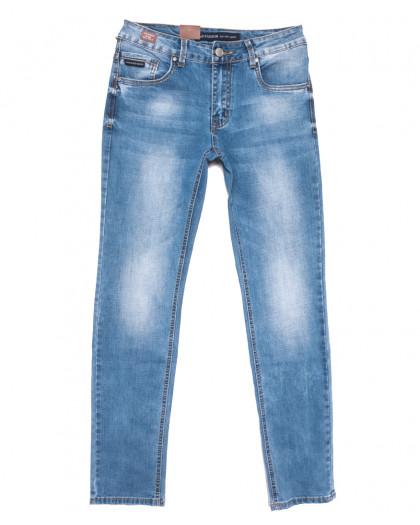 9450 God Bаron джинсы мужские синие весенние стрейчевые (30-38, 8 ед.) God Baron