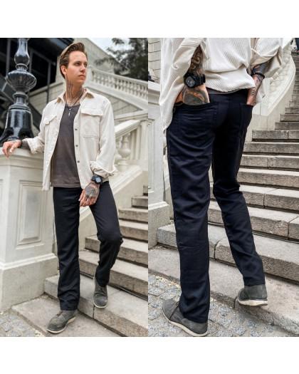 67026 черные LS брюки мужские весенние котоновые (30-38, 8 ед.) LS