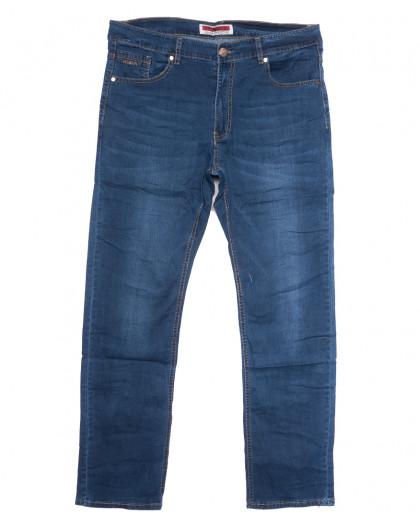 66003 Pr.Minos джинсы мужские синие летние стрейчевые (29-38, 8 ед.) Pr.Minos