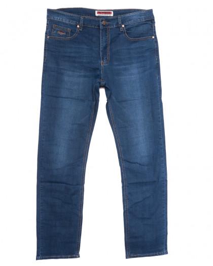 66010 Pr.Minos джинсы мужские полубатальные синие летние стрейчевые (32-42, 8 ед.) Pr.Minos