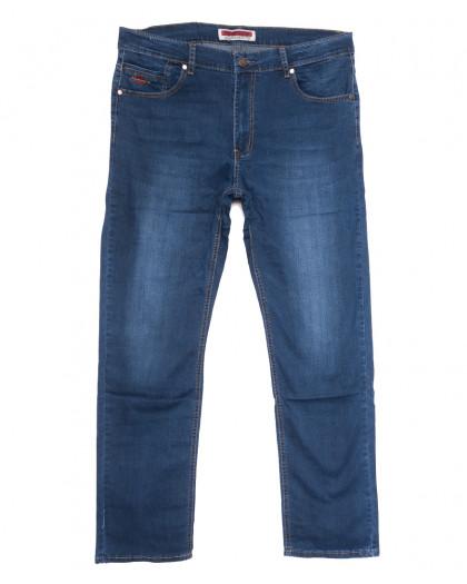 66005 Pr.Minos джинсы мужские синие летние стрейчевые (29-38, 8 ед.) Pr.Minos