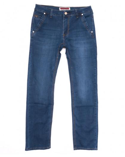 66001 Pr.Minos джинсы мужские синие летние стрейчевые (29-38, 8 ед.) Pr.Minos