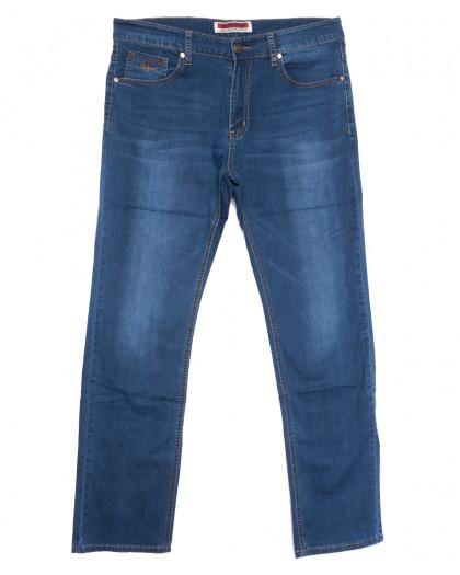 66007 Pr.Minos джинсы мужские полубатальные синие летние стрейчевые (32-38, 8 ед.) Pr.Minos