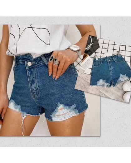 0333-3 Meiyiran шорты джинсовые женские рваные котоновые (S-XL, 6 ед.) Meiyiran