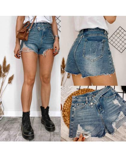 0172 Meiyiran шорты джинсовые женские рваные котоновые (S-XL, 6 ед.) Meiyiran