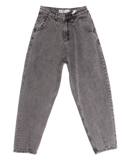 0922 MJS джинсы-баллон серые весенние коттоновые (26-31, 8 ед.) MJS