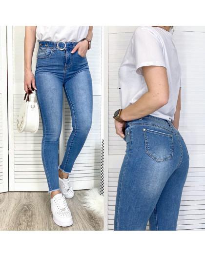 3641 New jeans джинсы женские зауженные синие весенние стрейчевые (25-30, 6 ед.) New Jeans
