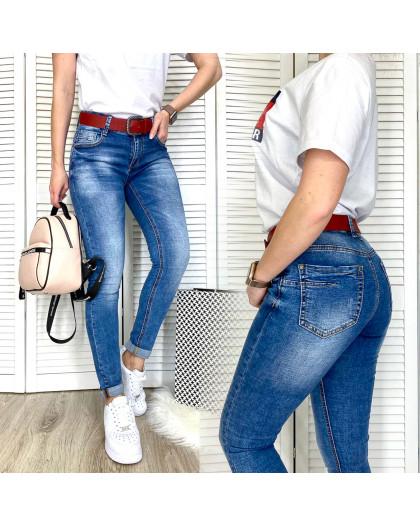 96503 Jo&Jo джинсы женские с царапками весенние стрейчевые (25-30, 6 ед.) Jo&Jo