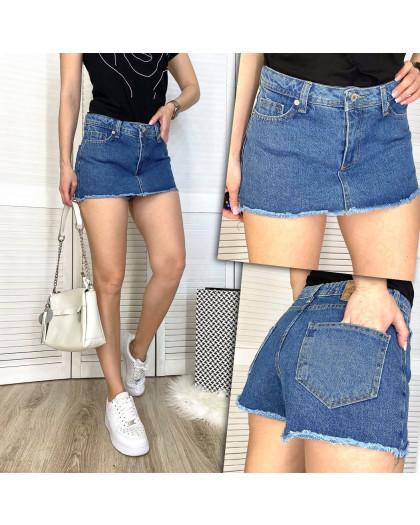 2879 Xray шорты-юбка джинсовые женские котоновые (34-42, 5 ед.) XRAY