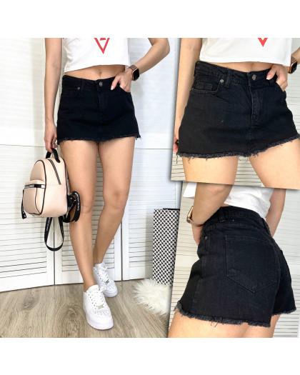 2879-1 Xray шорты-юбка джинсовые женские котоновые (34-42, 5 ед.) XRAY