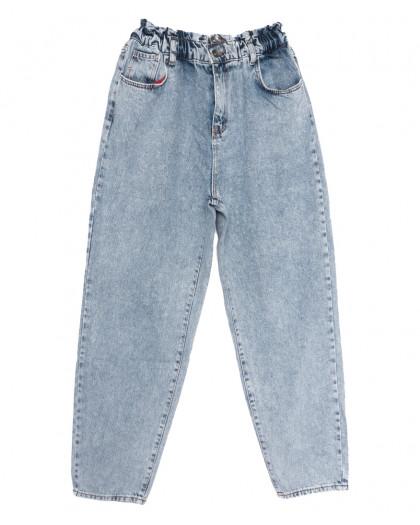 1081 Newourcer джинсы-баллон синие весенние коттоновые (26-31, 8 ед.) Newourcer