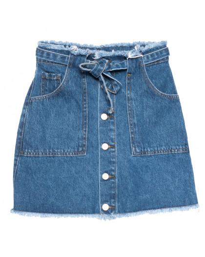 3386 синяя Xray юбка джинсовая на пуговицах коттоновая (34-40,евро, 6 ед.) XRAY