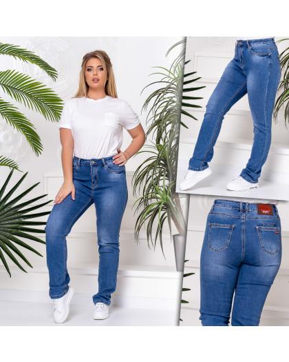 8239 Vanver джинсы женские батальные голубые стрейчевые (6 ед. размеры: 31.32.33.34.36.38) Vanver