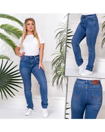 8231 Vanver джинсы женские батальные голубые стрейчевые (6 ед. размеры: 32.34.36.38.40.42) Vanver