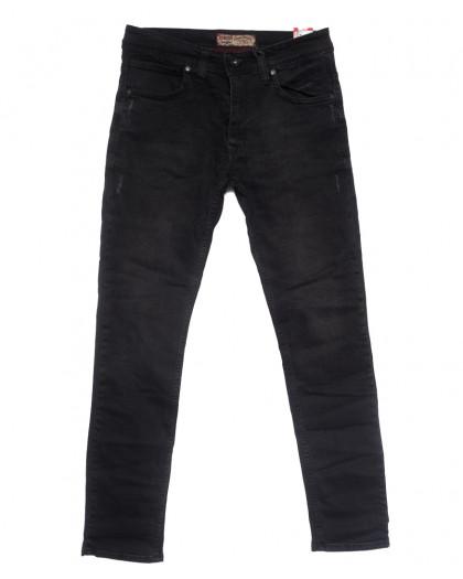 6810 Redcode джинсы мужские с царапками серые весенние стрейчевые (32-40, 8 ед.) Redcode