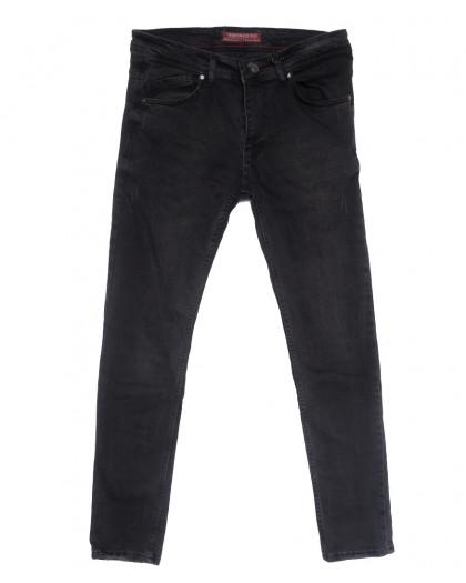 6501 Fashion Red джинсы мужские полубатальные с царапками серые весенние стрейчевые (32-40, 8 ед.) Fashion Red