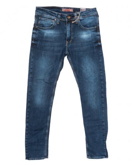 6711 Redcode джинсы мужские с царапками синие весенние стрейчевые (29-36, 8 ед.) Redcode