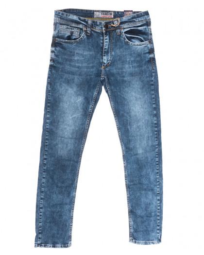 6713 Corcix джинсы мужские с царапками синие весенние стрейчевые (29-36, 8 ед.) Corcix