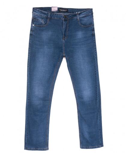 5323 Dervirga джинсы мужские полубатальные синие весенние стрейчевые (32-38, 8 ед.) Dervirga