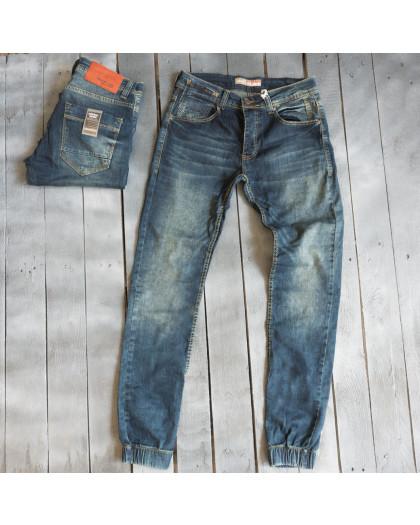 4261 Destry джинсы мужские синие весенние стрейчевые (30-36, 7 ед.) Destry