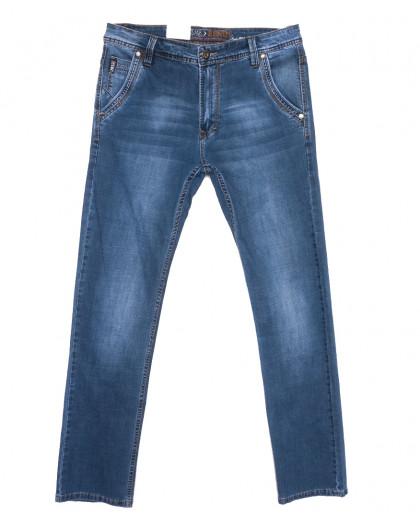 9428 Baron джинсы мужские полубатальные синие весенние стрейчевые (33-38, 8 ед.) Baron