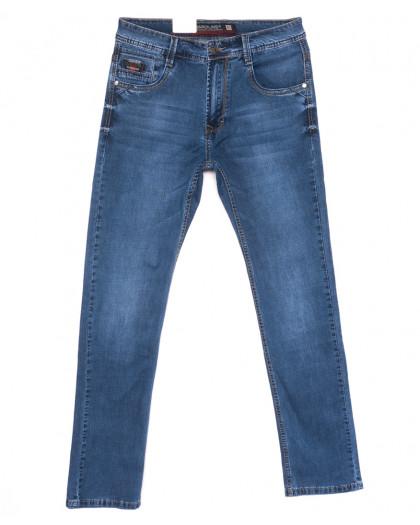 9411 Baron джинсы мужские полубатальные синие весенние стрейчевые (33-38, 8 ед.) Baron