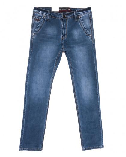 9406 Baron джинсы мужские полубатальные синие весенние стрейчевые (32-36, 8 ед.) Baron