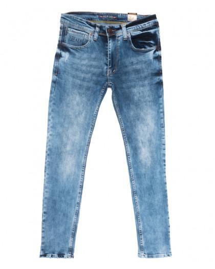 6849 Redcode джинсы мужские c царапками синие весенние стрейчевые (29-36, 8 ед.) Redcode