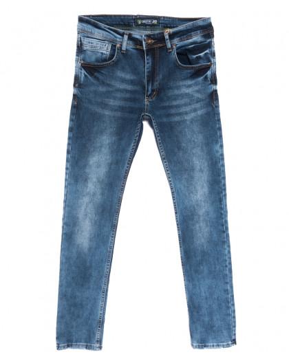 6662 Destry джинсы мужские синие весенние стрейчевые (29-36, 8 ед.) Destry