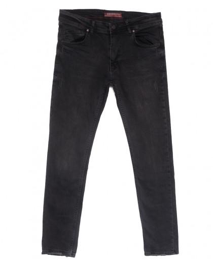 6501 Fashion red джинсы мужские полубатальные c царапками серые весенние стрейчевые (32-40, 8 ед.) Fashion Red