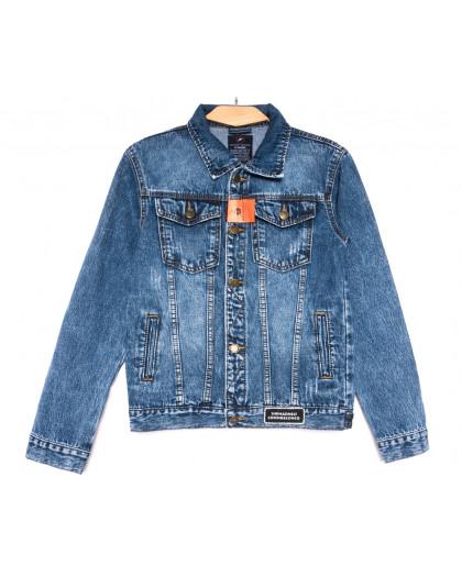 0224-1 A Relucky куртка джинсовая женская синяя осенняя коттоновая (S-XXL, 6 ед.) Relucky