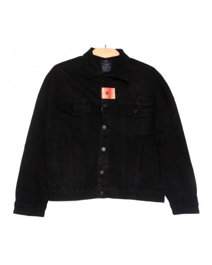 0210-2 A Relucky куртка джинсовая женская черная осенняя стрейчевая (S-L, 6 ед.) Relucky