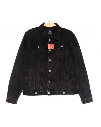 0226-2 A Relucky куртка джинсовая женская серая осенняя стрейчевая (S-ХХL, 6 ед.) Relucky