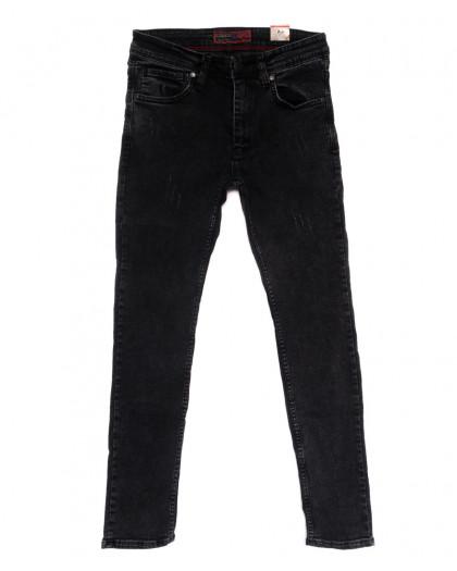 6836 Corcix джинсы мужские с царапками серые стрейчевые (29-36, 8 ед.) Corcix