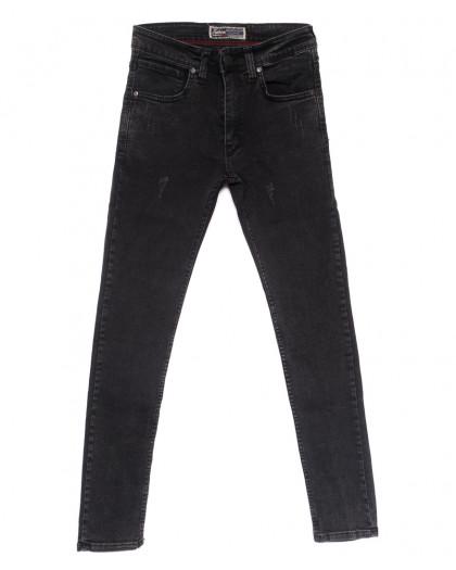 6837 Fashion red джинсы мужские с царапками серые весенние стрейчевые (29-36, 8 ед.) Fashion Red