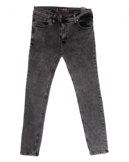 6943 Redcode джинсы мужские полубатальные с царапками серые весенние стрейчевые (32-40, 8 ед.) Redcode