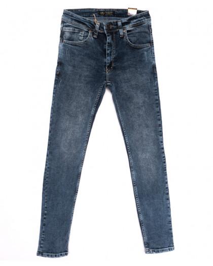 6876 Redcode джинсы мужские с царапками синие весенние стрейчевые (29-36, 8 ед.) Redcode