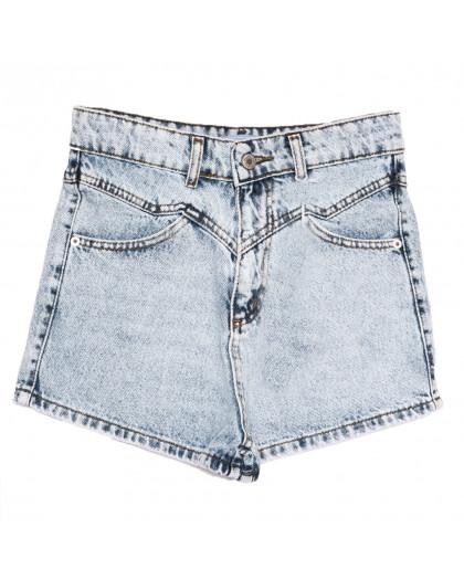 3355 Xray шорты джинсовые женские с рванкой синие коттоновые (34-40,евро, 5 ед.) XRAY
