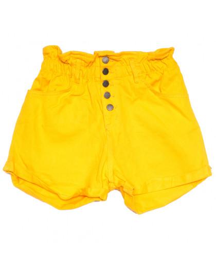 11547 желтые Defile шорты джинсовые женские коттоновые (34-40,евро, 6 ед.) XRAY