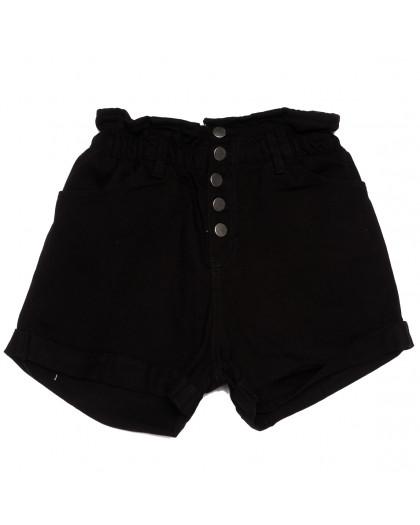 11547 черные Defile шорты джинсовые женские коттоновые (34-40,евро, 6 ед.) XRAY