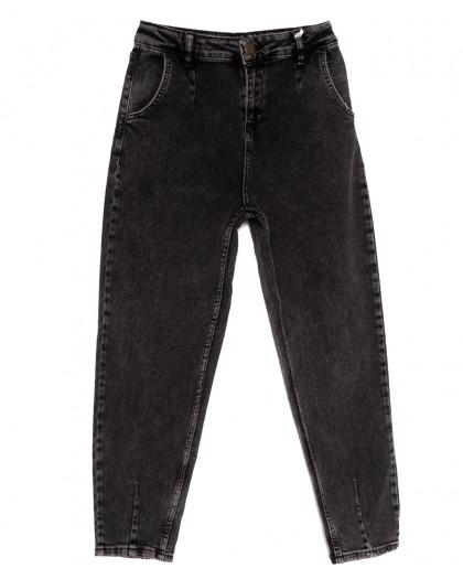 1017 Esqua джинсы-баллон темно-серые весенние стрейчевые (26-31, 6 ед.) Esqua