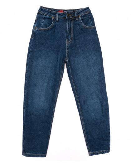 0081-2 М Relucky джинсы-баллон синие осенние стрейчевые (25-30, 6 ед.) Relucky