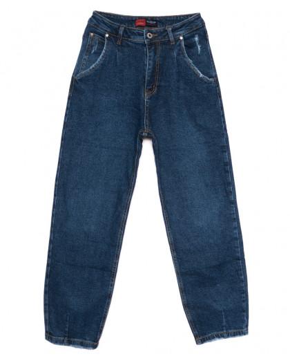 0082-2 М Relucky джинсы-баллон синие осенние стрейчевые (25-30, 6 ед.) Relucky
