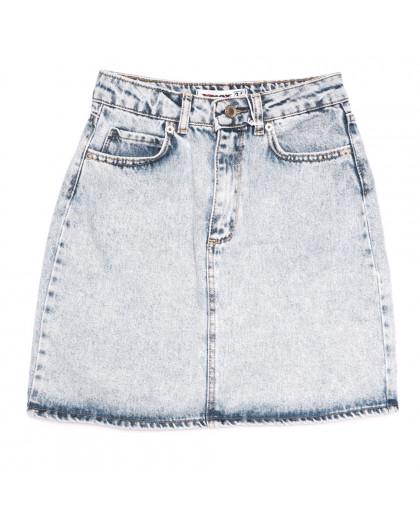 3413 Xray юбка джинсовая синяя весенняя коттоновая (34-40,евро, 6 ед.) XRAY