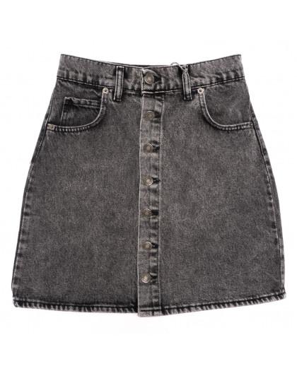 3444 Xray юбка джинсовая серая весенняя коттоновая (34-40,евро, 6 ед.) XRAY