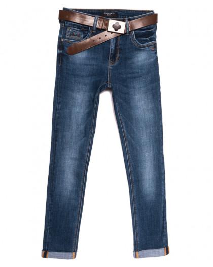 9337 Dimarkis Day джинсы женские полубатальные синие осенние стрейчевые (28-33, 6 ед.) Dimarkis Day