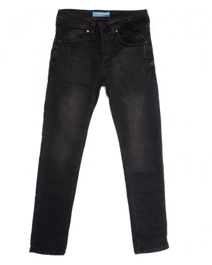 6990 Fashion Red джинсы мужские с царапками серые осенние стрейчевые (29-36, 8 ед.) Fashion Red