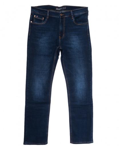66031 Pr.Minos джинсы мужские полубатальные синие осенние стрейчевые (32-38, 8 ед.) Pr.Minos