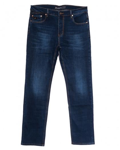 66033 Pr.Minos джинсы мужские полубатальные синие осенние стрейчевые (32-42, 8 ед.) Pr.Minos