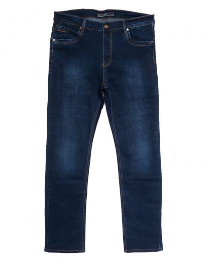 66032 Pr.Minos джинсы мужские полубатальные синие осенние стрейчевые (32-42, 8 ед.) Pr.Minos